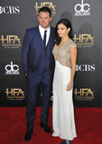 Channing Tatum & Jenna Dewan-Tatum Stock Photo
