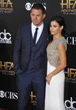 Channing Tatum & Jenna Dewan-Tatum Royalty Free Stock Photography