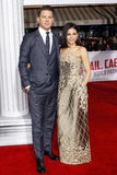 Channing Tatum and Jenna Dewan Royalty Free Stock Images