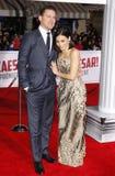 Channing Tatum and Jenna Dewan Royalty Free Stock Photos