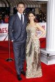 Channing Tatum and Jenna Dewan Royalty Free Stock Image