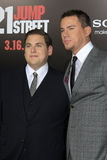 Channing Tatum,Jonah Hill Royalty Free Stock Photos