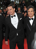 Channing Tatum & Mark Ruffalo Royalty Free Stock Photo