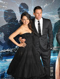 Channing Tatum & Mila Kunis Royalty Free Stock Photo