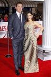 Channing Tatum och Jenna Dewan Arkivbild