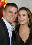 Channing Tatum and Rachel Griffiths Stock Photos