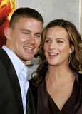 Channing Tatum and Rachel Griffiths Royalty Free Stock Images