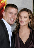 Channing Tatum and Rachel Griffiths Royalty Free Stock Photography