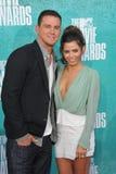Channing Tatum u. Jenna Dewan-Tatum Stockfotografie