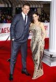 Channing Tatum und Jenna Dewan Stockbild