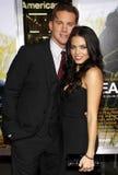 Channing Tatum y Jenna Dewan Imágenes de archivo libres de regalías