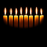 Channukah Candles Stock Image