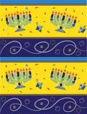 Chanoekapatroon royalty-vrije illustratie