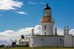 CHANONRY POINT, BLACK ISLE/SCOTLAND - MAY 20 : The lighthouse at Royalty Free Stock Images