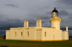Chanonry Point Lighthouse Royalty Free Stock Images