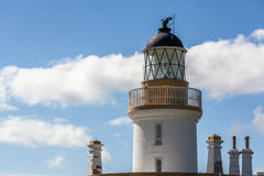 CHANONRY POINT, SCOTLAND/UK - MAY 20 : Chanonry Point lighthouse Stock Image