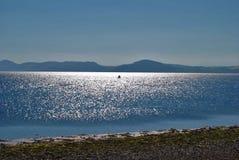 Chanory punkt den svarta ön Skottland royaltyfria bilder