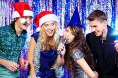 Chanson de karaoke Photos stock