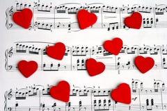 Chanson de l'amour Photos stock