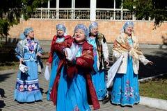 Chanson folklorique Photos libres de droits