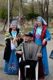 Chanson folklorique Image libre de droits