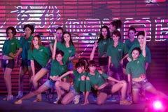 Chant chaud de champ et cinquante-premier concours de Mlle International Jiangxi de danse-Le Image stock
