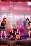 Chant chaud de champ et cinquante-premier concours de Mlle International Jiangxi de danse-Le Photo libre de droits