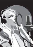 Chant de femmes Photographie stock libre de droits