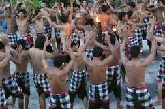 Chant de singe de Kekak Photos libres de droits
