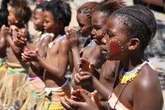 Chant et danse photo stock