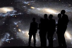 Chant sous les étoiles Images libres de droits