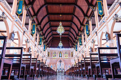 CHANTABURI, TAILANDIA - 26 DE SEPTIEMBRE 2015: Los interiores del Imagen de archivo