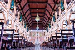 CHANTABURI, THAILAND - 2015 26 SEPTEMBER: Het binnenland van Stock Afbeelding