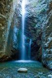 chantara山trodos瀑布 库存照片