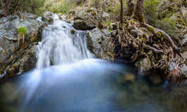 Chantara falls in the troodos mountains 4 Stock Photography