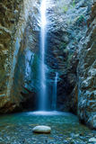 Chantara Waterfalls in Trodos mountains Stock Photos