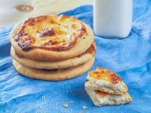 Chante le gâteau au fromage avec le fromage blanc Photographie stock libre de droits