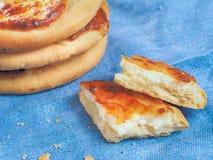 Chante le gâteau au fromage avec le fromage blanc Photos stock