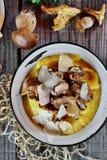 Chanterelle et champignon de Porcini image stock