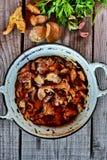 Chanterelle et champignon de Porcini photographie stock