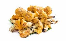 Chanterelle Mushrooms Isolated Stock Photo