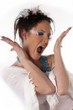 Chanteur étrange Images stock