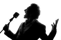 Chanteur Photo libre de droits
