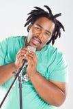 Chanteur africain photographie stock