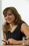 Chanteur Annett Louisan Photo stock