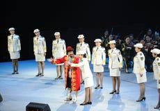 Chanteur célèbre Karim-theFamous de Chinois et classicconcert Photo stock