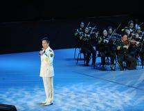 Chanteur célèbre Yan Weiwen-theFamous de la Chine et classicconcert Photographie stock
