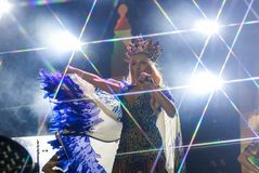 Chanteur d'Olya Polyakova Photos stock