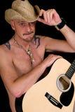 chanteur de country occidental photos libres de droits