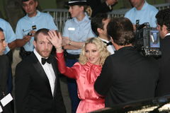 Chanteur de Madonna Photo libre de droits